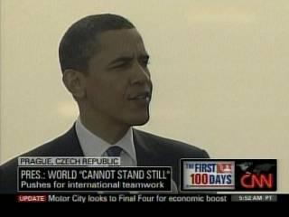 Obama in Prague