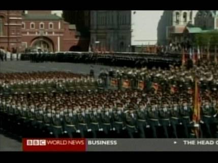 Soviet-style parade